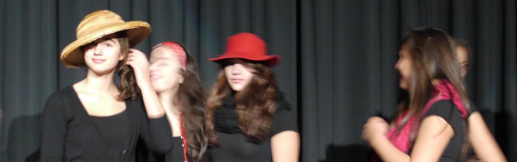 Hallo, Theaterprobe 2014