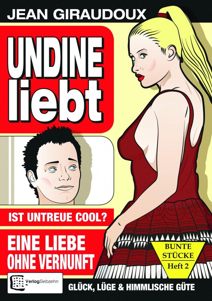 Undine, Schultheater, Titelseite, Verlag Siebzehn, 2019